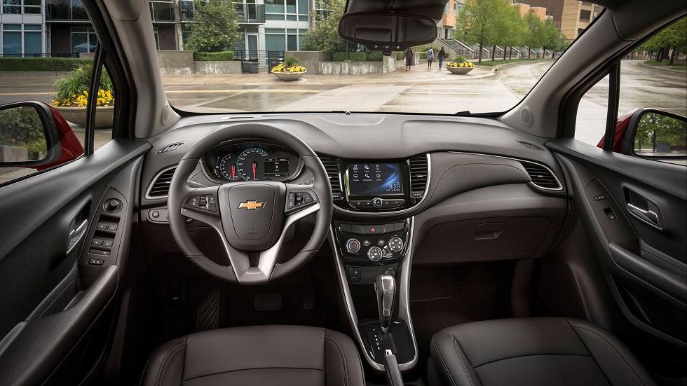 Tracker interior