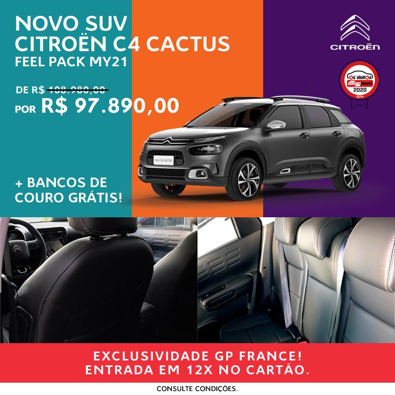 Citroën C4 Cactus Feel Pack