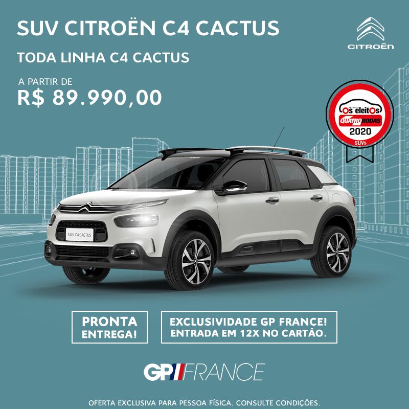 Citroën C4 Cactus Toda Linha